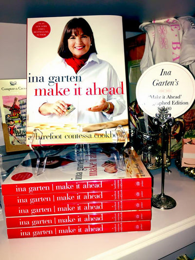 Ina's Cookbooks Have Arrived-Autographed Editions!