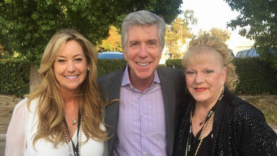 Tom Bergeron & Gay Blackstone