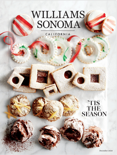Gwendolyn's Cakes Featured In Williams-Sonomas Holiday Gift Guide Catalog 2020