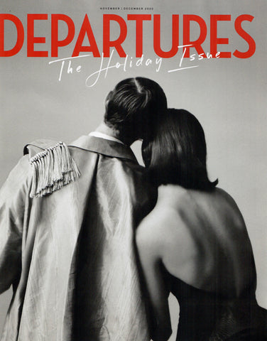 Departures Holiday Issue Magazine