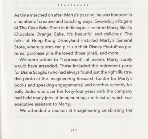 Marty Sklar 'Travels With Figment' Mention
