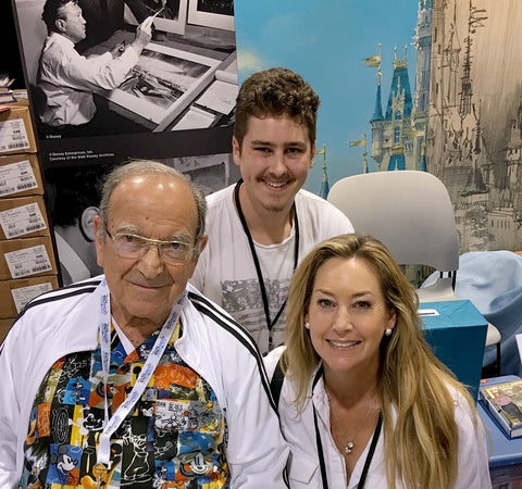 Marty Sklar with Baxter and Gwendolyn Rogers