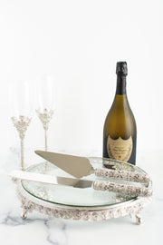 The Cake Bake Shop's Silver Wedding Serving Set