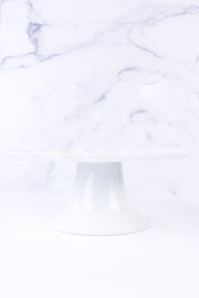 Cake Bake Shop's Custom Pillivuyt French Porcelain Cake Stand