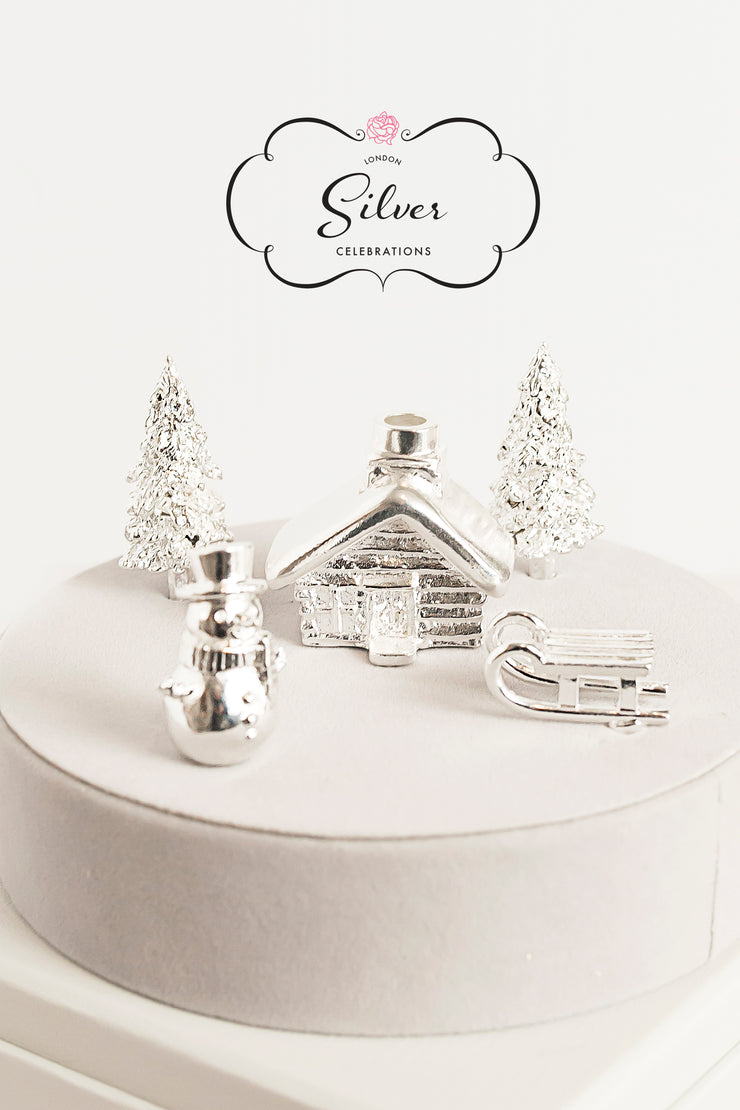 Silver Celebration Candle Holders Christmas Collection