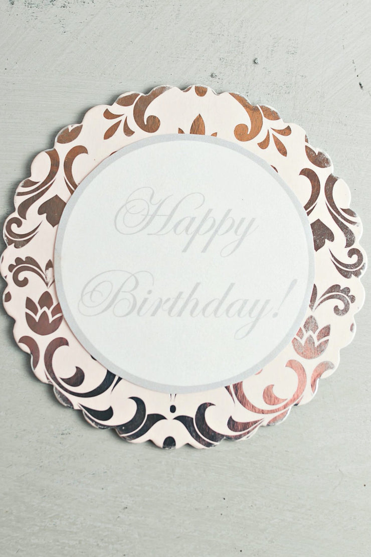 Customized Cake Plaque