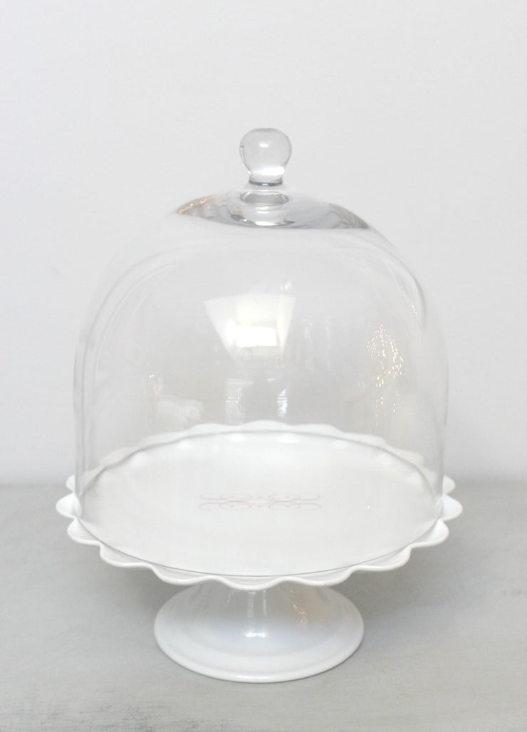 Hand Blown Glass Cake Domes