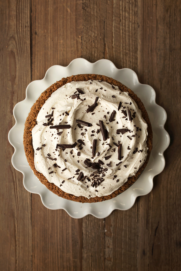 French Chocolate Silk Pie (As Seen On Home & Family)