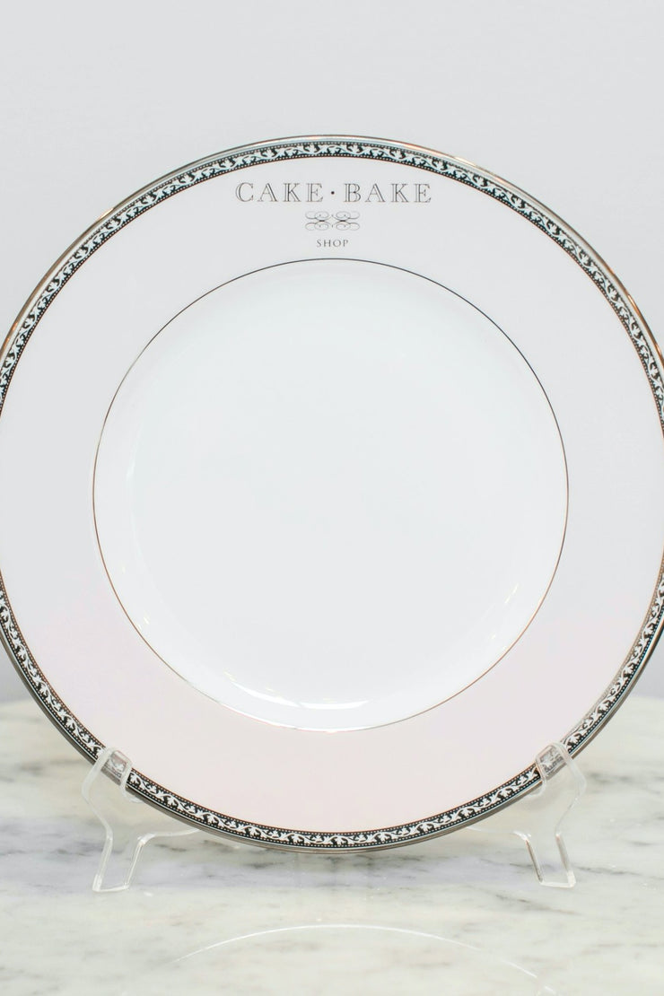 Cake Bake Shop Pink Dinner Plate Made By Lenox
