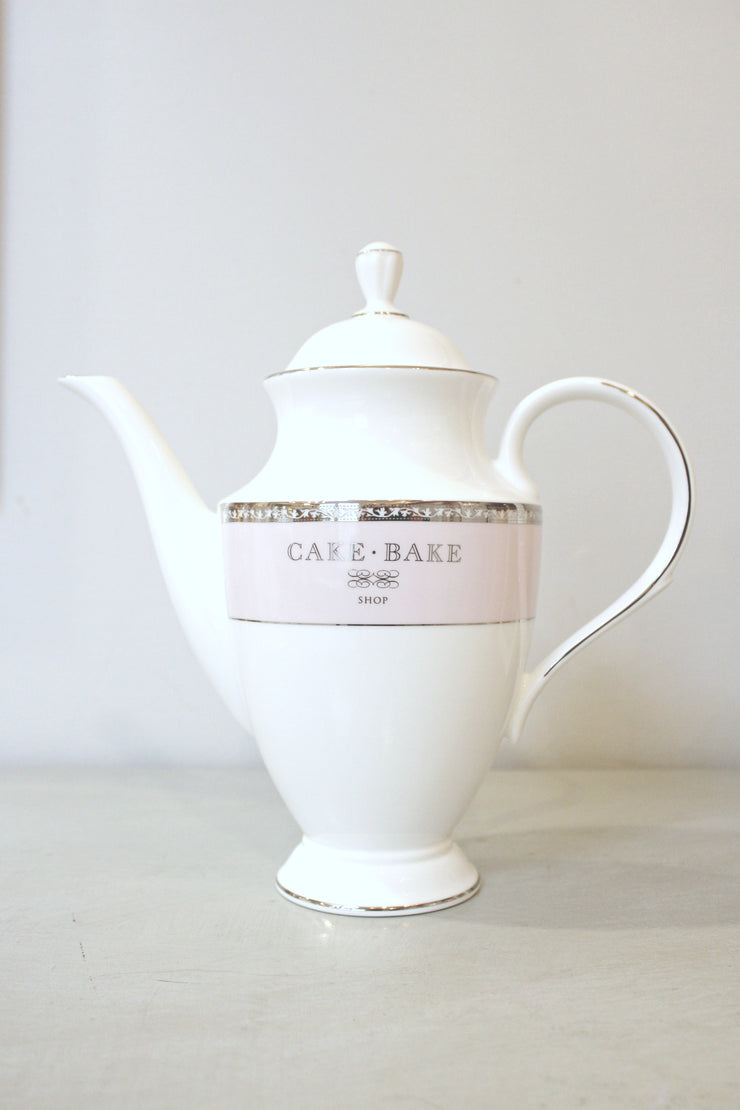 Cake Bake Shop Coffee Pot Made By Lenox