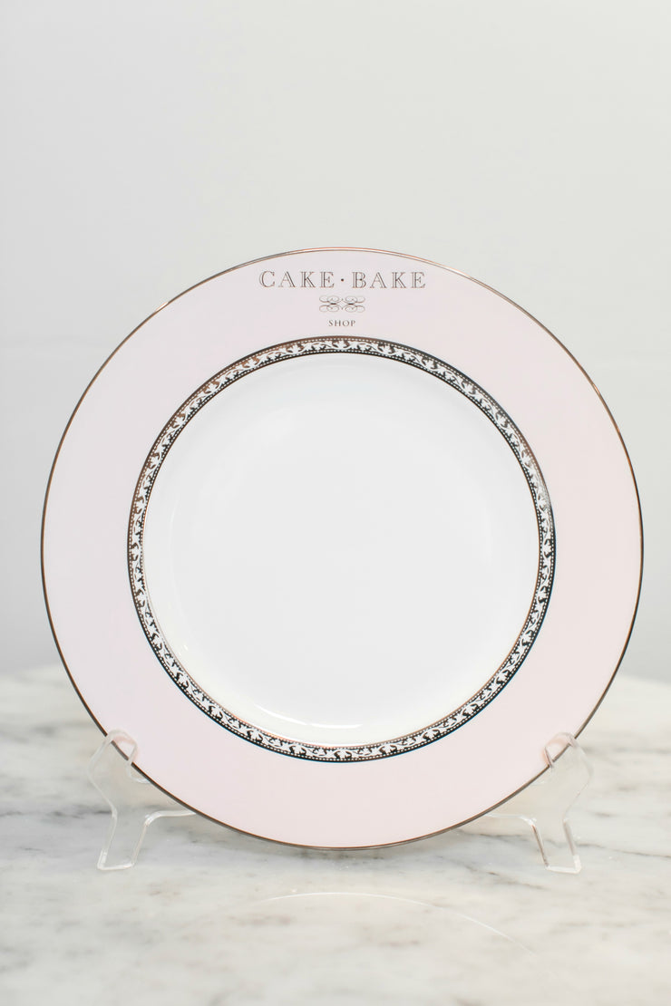 Cake Bake Shop Pink Salad Plate Made By Lenox