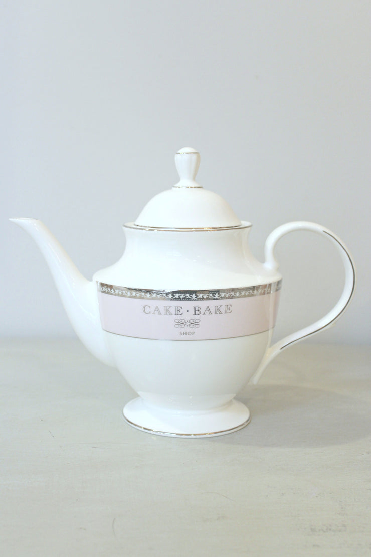 Cake Bake Shop Tea Pot Made By Lenox
