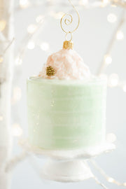 Cake Bake Shop's Mint Chocolate Chip Holiday Ornament