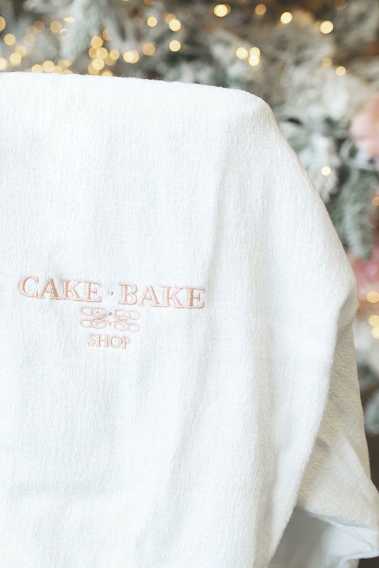 Cake Bake Shop Luxe Cotton Robe