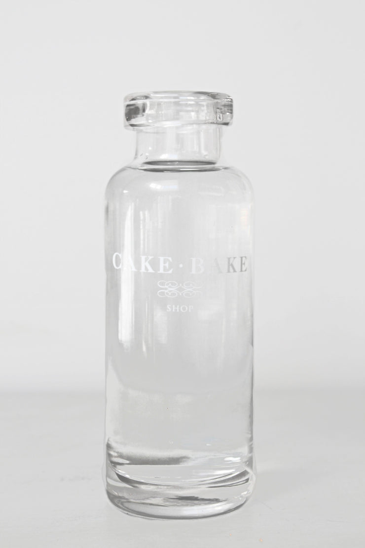 Cake Bake Shop Glass Water Bottle
