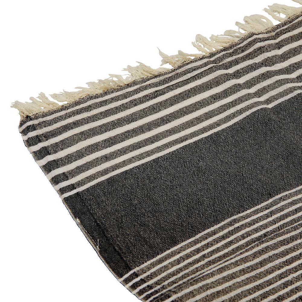 NEW FARM TOWEL - BLACK