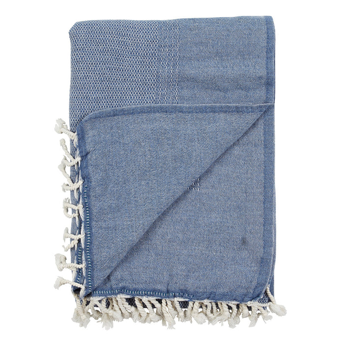 KIRRIBILLI THROW - DENIM