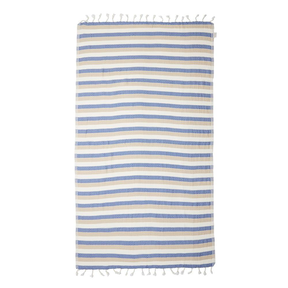 REEF TURKISH TOWEL - DENIM / BEIGE