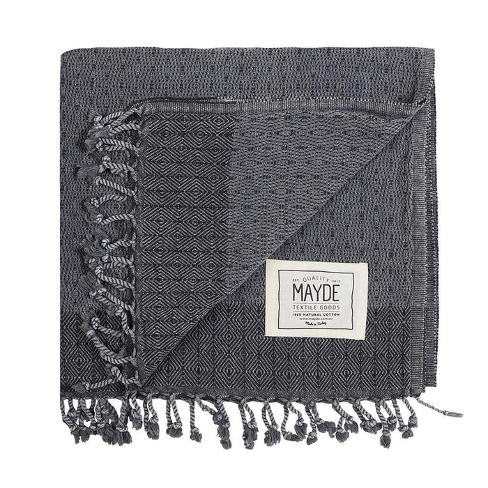 TREACHERY TOWEL - CHARCOAL