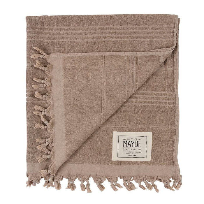 MIDDLE COVE TOWEL - SAND