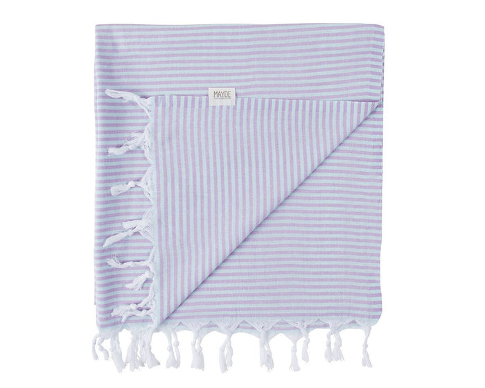NOOSA TURKISH TOWEL - MINT / LILAC
