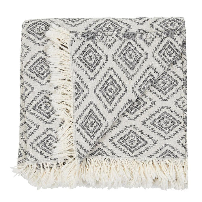 VAUCLUSE THROW - BLACK