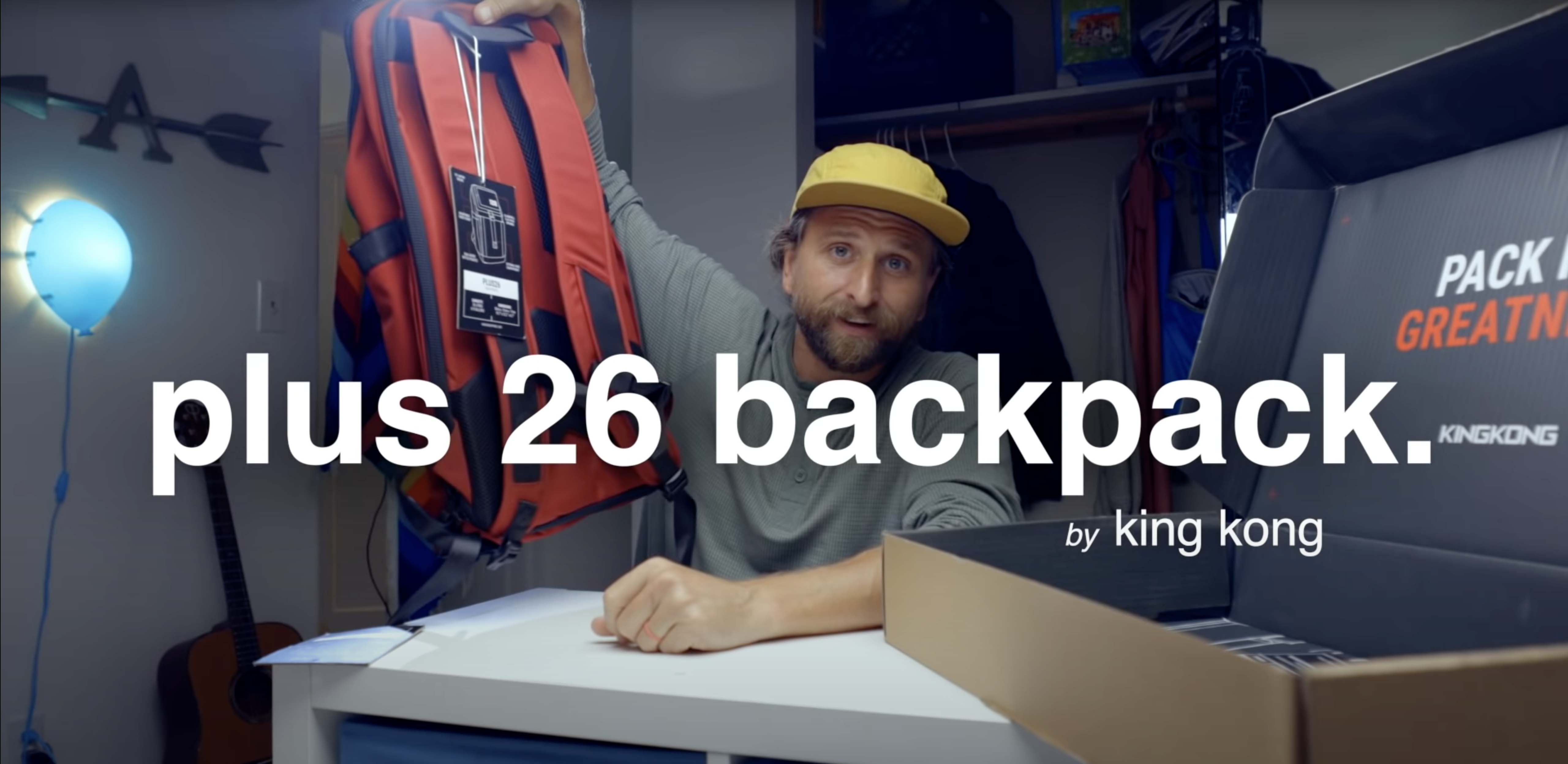 Chase Reeves Backpack Review of King Kong PLUS26