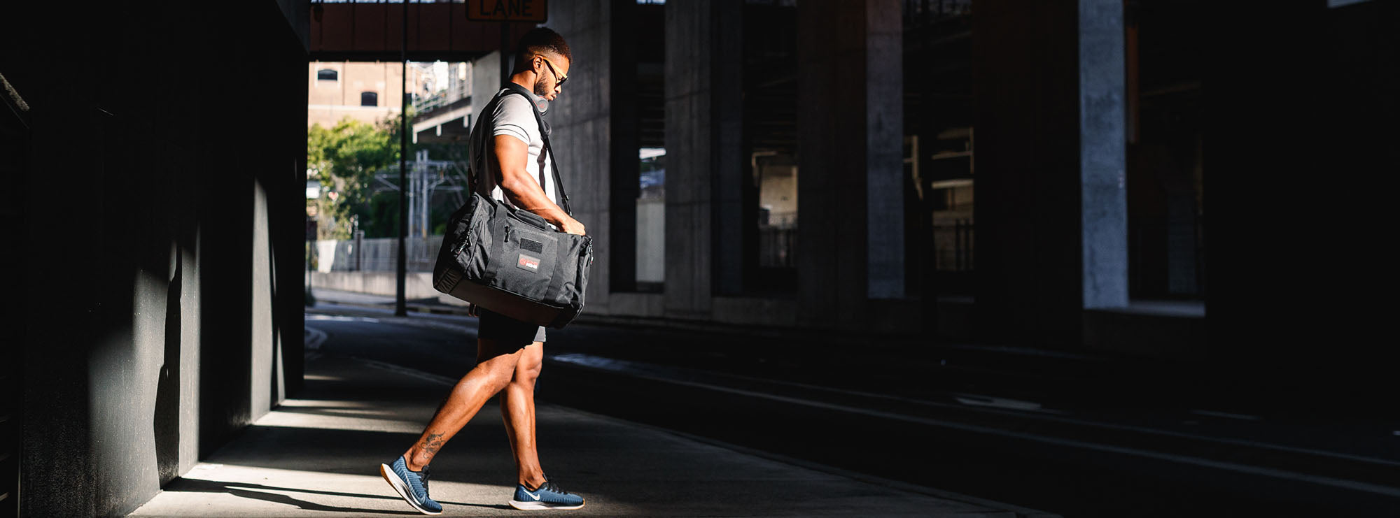 Gym bag perfect for travel