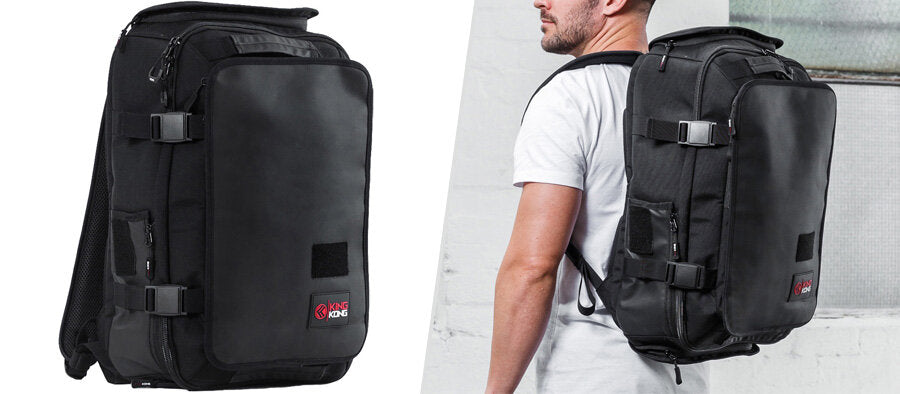 EDGE35 Backpack with shoe compartments