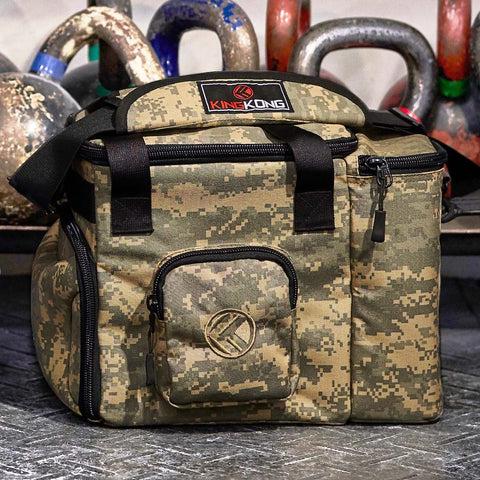 Meal Prep Duffel Bag with Ice Packs and Insulation