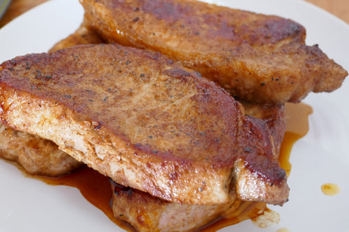 Peppercorn Marinated Boneless Pork Chops