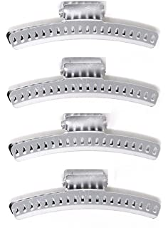 "Annie Aluminum Wave Clamps 3"" 4-Pack"