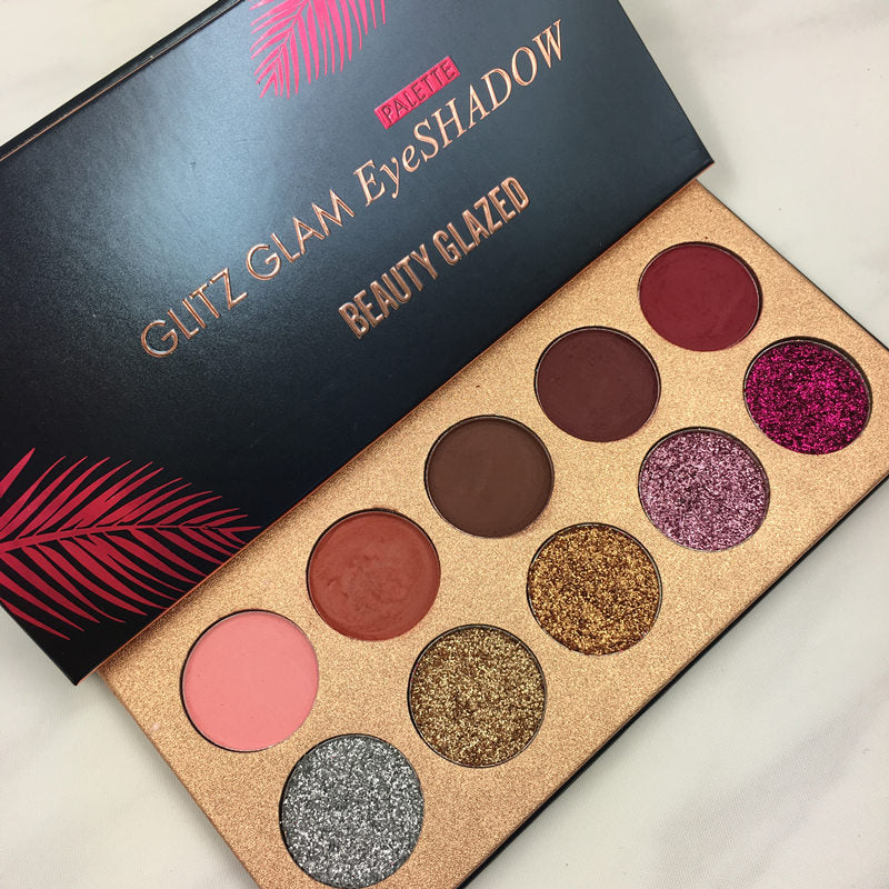 Beauty Glazed Glitz Glam Eyeshadow Palette