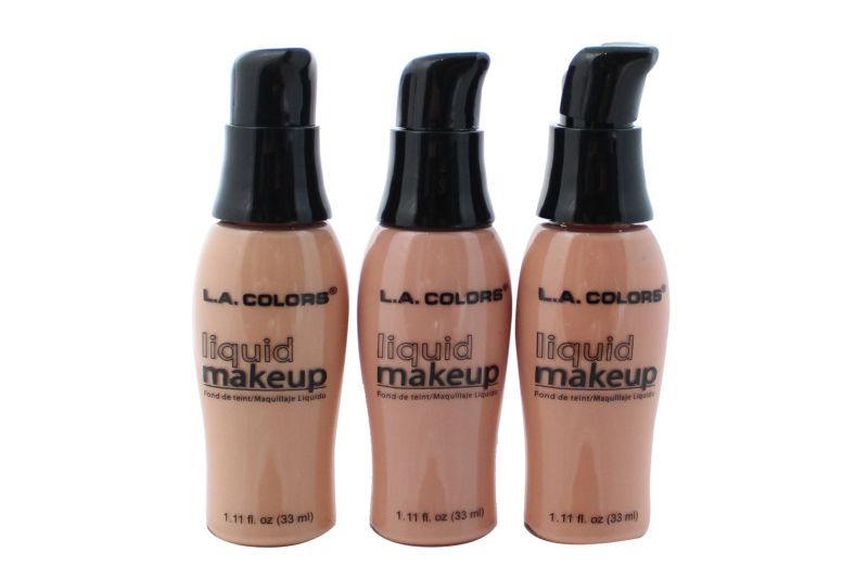 L.A. Colors Liquid Makeup Foundation