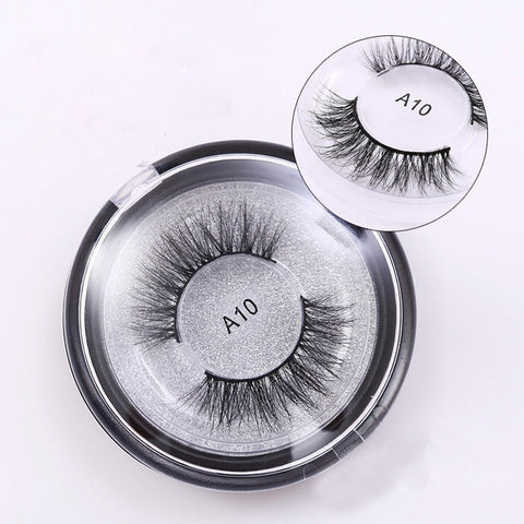 A10 Soft Cross Mink Eyelashes