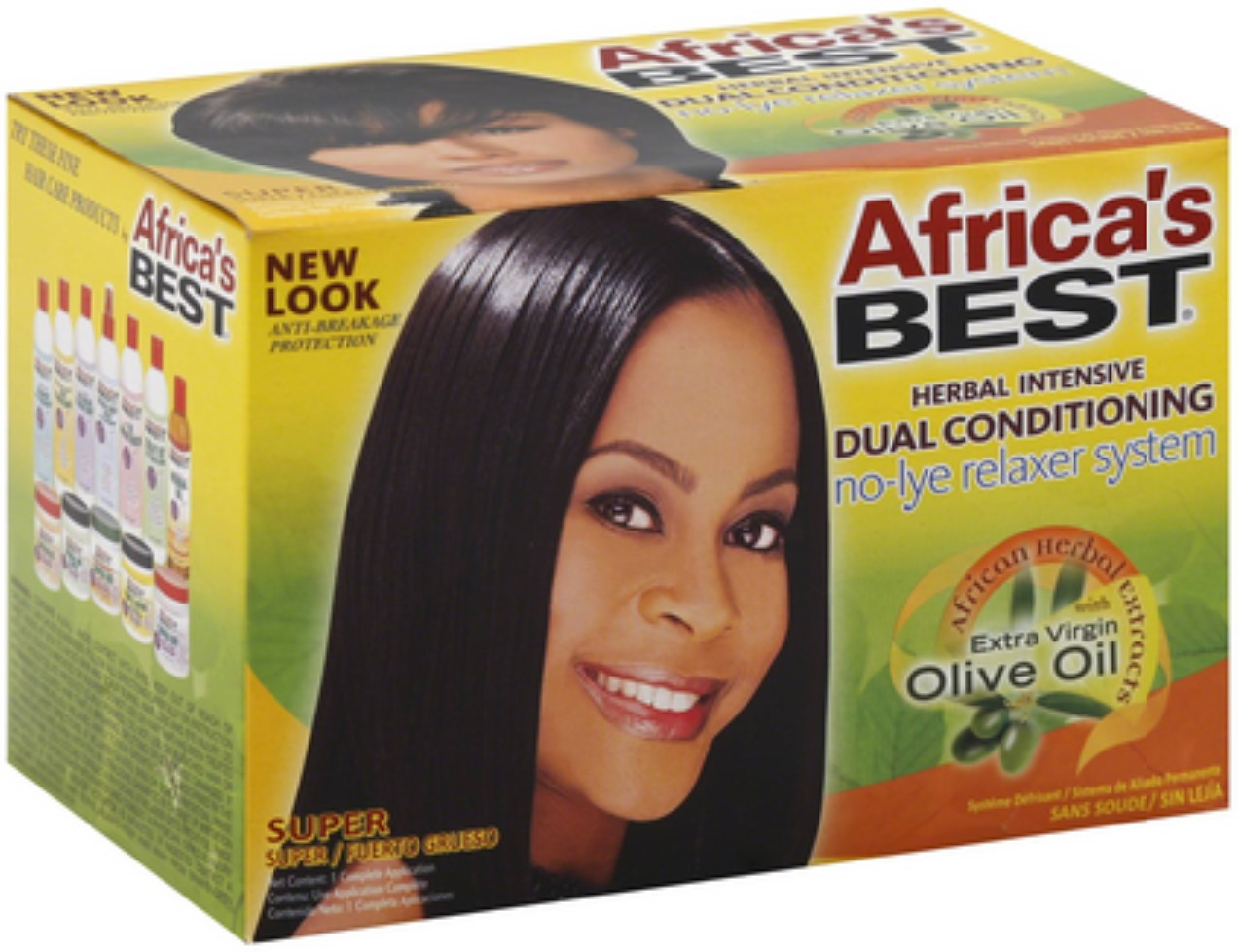 Africa's Best Herbal Conditioning No-Lye Relaxer System