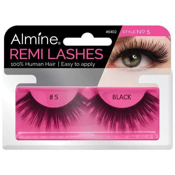 Almine 100% Remi Human Hair Eyelashes