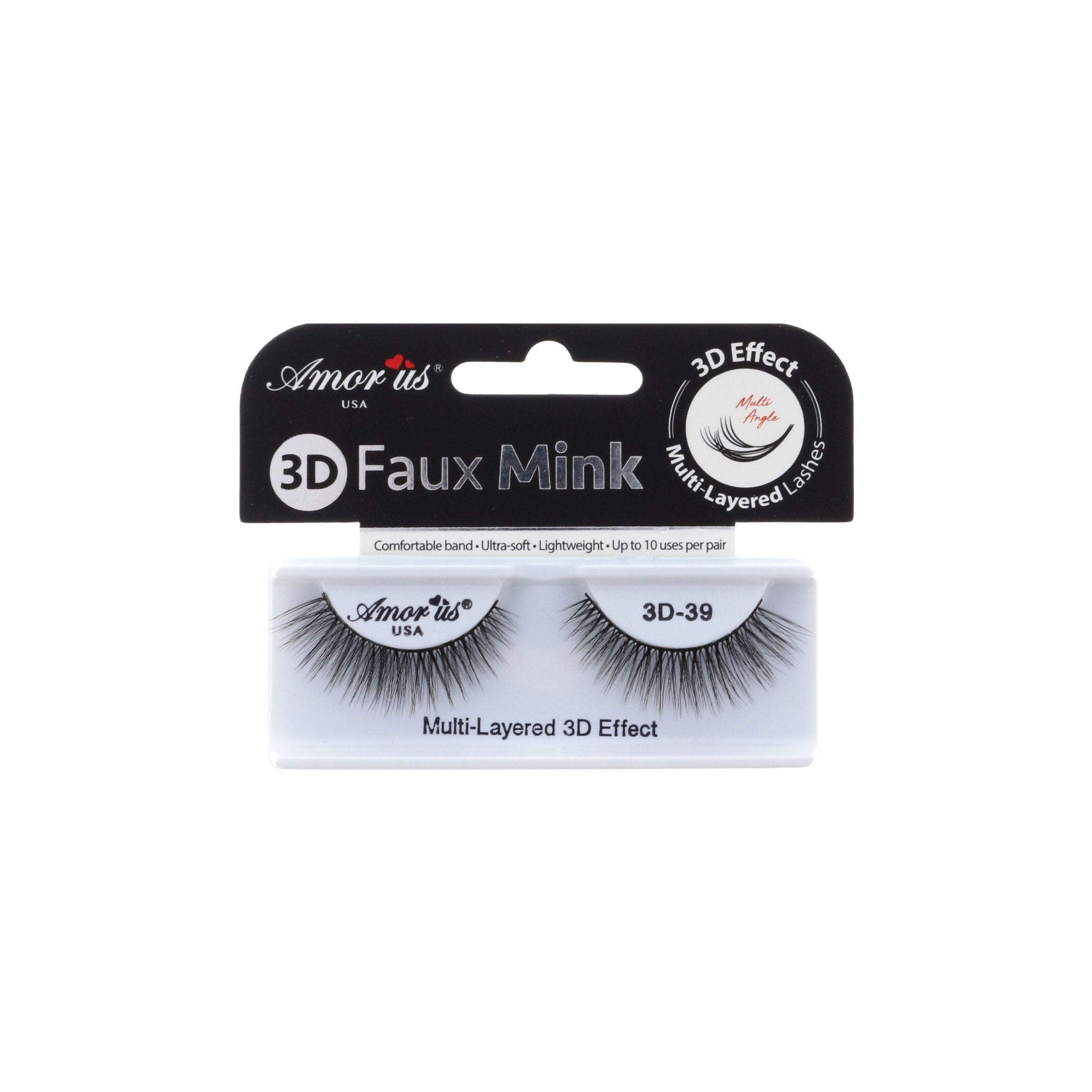 Amor Us Faux Mink 3D Eyelashes