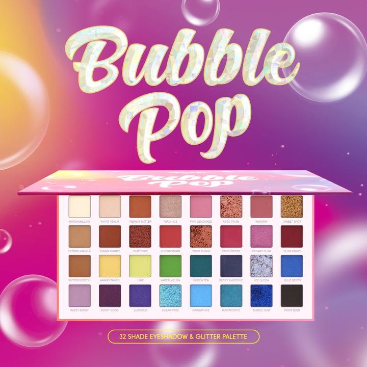 Amorus Bubble Pop Eyeshadow Palette