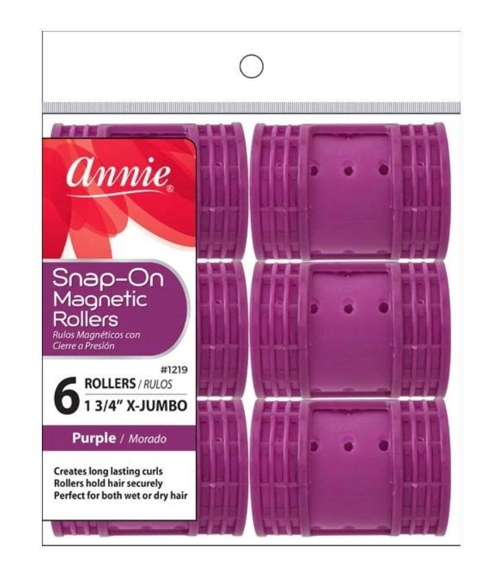 Annie Snap-On Magnetic Rollers