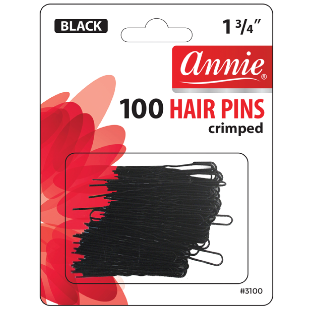 Annie Crimped Hair Pins (100-Pack)