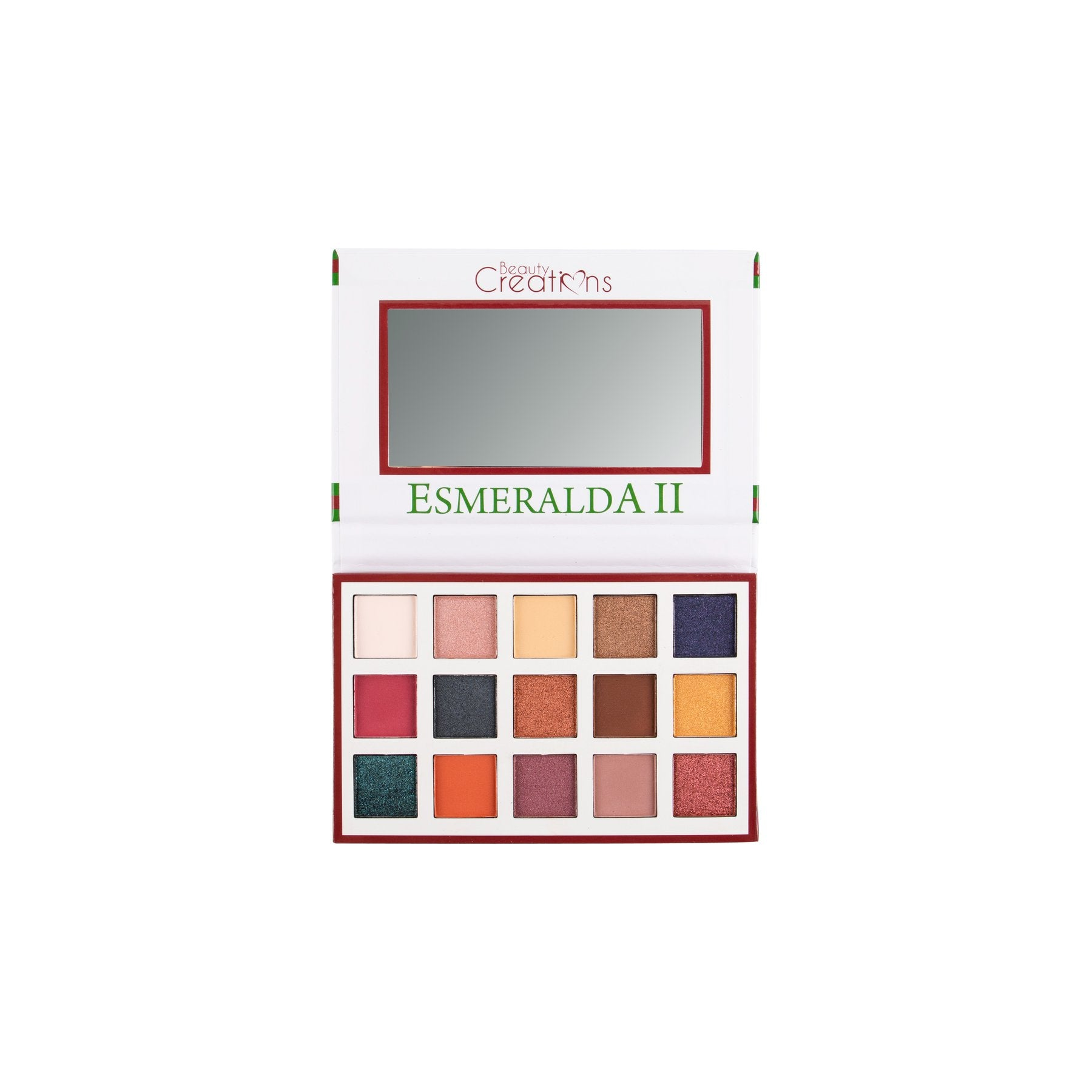 Beauty Creations Esmeralda II Eyeshadow Palette