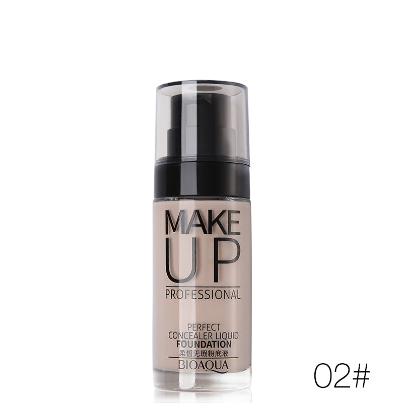 BioAqua Make Up Professional Perfect Concealer Liquid Foundation