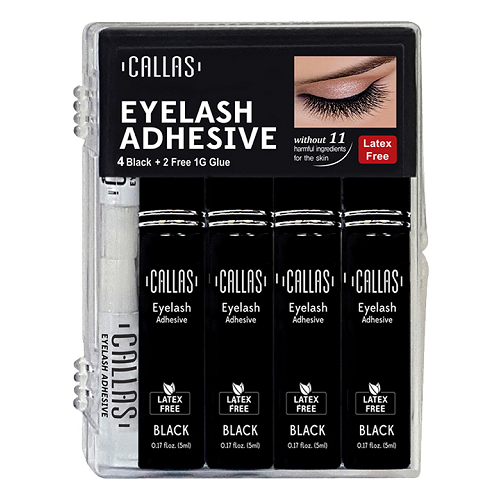 Callas Eyelash Glue 4-Piece Set