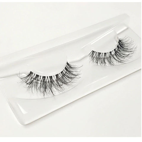 3D Mink Hidden Band Strip Lashes