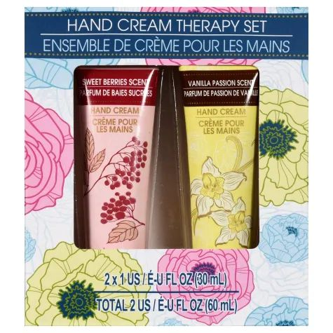 April Bath & Shower Hand Cream Therapy Set (Vanilla Passion & Sweet Berries)