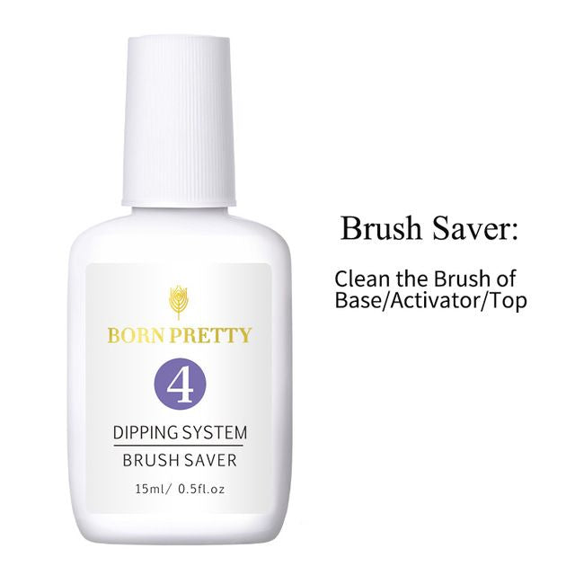 Born Pretty Dipping Powder System Brush Saver (15ml)