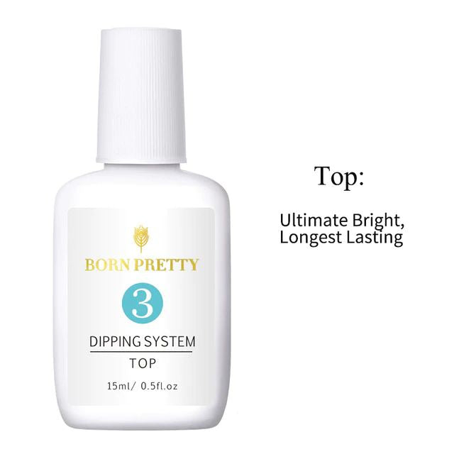 Born Pretty Dipping Powder System Top Coat (15ml)