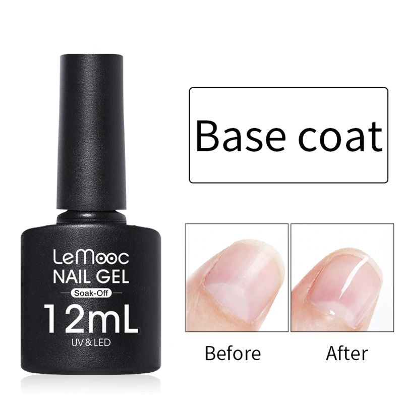 LeMooc Nails UV / LED Base Coat (12ml)