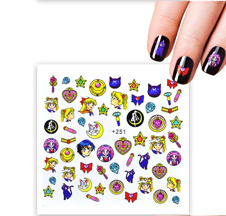 LOLEDE Nail Art Stickers